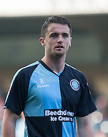 Stephen McGinn of Wycombe Wanderers during the Sky Bet League 2 match between Wycombe Wanderers and Northampton Town at Adams Park, High Wycombe, England on 3 October 2015. Photo by Andy Rowland.