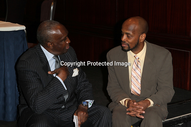 Lloyd Williams and Keith Forest Attend The Greater Harlem Chamber of Commerce and its media partners WBLS-FM and New York Amsterdam News presents: New York City Tourism 2013, Hosted by NYC & CO, Marriott, Harlem Arts Alliance and I LOVE NY Held at the Marriott Marquis Hotel, NY