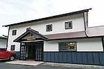 A general view of the Katsuyama Supreme SAKE Co., Ltd. during a tour to members of the press as part of the ''1000km Relay to Tokyo 2016'' promotion event in Sendai City on July 30, 2016, Miyagi, Japan. The sake brewery factory received the Gold Medal of Junmai Ginjo category at the International Wine Challenge 2016 Award for its flagship sake ''Akatsuki'' on July 29, 2016. The sake brewery was established over 320 years ago and is expanding to market their products overseas. (Photo by Rodrigo Reyes Marin/AFLO)