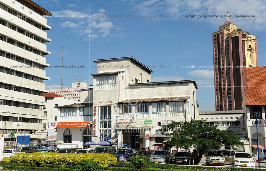 Tanzania Dar es Salaam , post office / TANSANIA Dar es Salam, Postamt