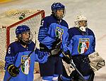 06.01.2020, BLZ Arena, Füssen / Fuessen, GER, IIHF Ice Hockey U18 Women's World Championship DIV I Group A, <br /> Frankreich (FRA) vs Italien (ITA), <br /> im Bild Enttaeuschung nach Tor zum 2:1, Anna Caumo (ITA, #8), Anna Callovini (ITA, #23), Martina Fedel (ITA, #25)<br />  <br /> Foto © nordphoto / Hafner