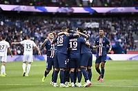 JOIE - EQUIPE DE FOOTBALL DU PSG<br /> 05/10/2019<br /> Paris Saint Germain PSG - Angers <br /> Calcio Ligue 1 2019/2020 <br /> Foto Anthony Bibard Panoramic/insidefoto <br /> ITALY ONLY