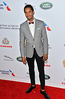 BEVERLY HILLS, CA. October 26, 2018: Elliot Knight at the 2018 British Academy Britannia Awards at the Beverly Hilton Hotel.<br /> Picture: Paul Smith/Featureflash