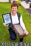 Sheila Prendiville from Abbeyfeale who appeared on School Around the Corner in 1964 and still has the original case and photo from that time.