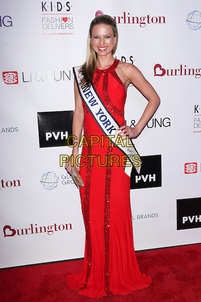 NEW YORK, NY - NOVEMBER 4: Ms. New York Ashley Kulovany at the K.I.D.S./Fashion Delivers Annual Gala to Honor Stuart M. Brister, Dow Famulak &amp; Shikshya Foundation Nepal at The American Museum of Natural History in New York City 0n November 4, 2015.  <br /> CAP/MPI99<br /> &copy;MPI99/Capital Pictures
