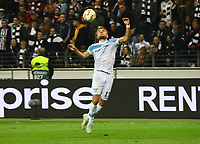 Ciro Immobile (Lazio Rom) - 04.10.2018: Eintracht Frankfurt vs. Lazio Rom, UEFA Europa League 2. Spieltag, Commerzbank Arena, DISCLAIMER: DFL regulations prohibit any use of photographs as image sequences and/or quasi-video.