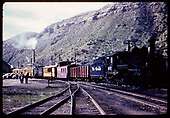 #463 K-27 - Durango - excursion train.<br /> D&amp;RGW  Durango, CO