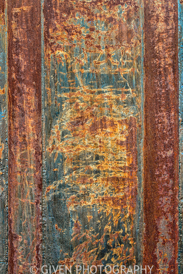 Abstract of rusted metal