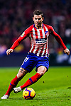 Lucas Hernandez of Atletico de Madrid in action during the La Liga 2018-19 match between Atletico Madrid and FC Barcelona at Wanda Metropolitano on November 24 2018 in Madrid, Spain. Photo by Diego Souto / Power Sport Images