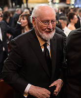 John Williams, Oscar&reg; nominee, during the live ABC Telecast of The 90th Oscars&reg; at the Dolby&reg; Theatre in Hollywood, CA on Sunday, March 4, 2018.  <br /> *Editorial Use Only*<br /> CAP/PLF/AMPAS<br /> Supplied by Capital Pictures