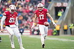 Wisconsin Badgers XXXX during an NCAA College Big Ten Conference football game against the Michigan Wolverines Saturday, November 18, 2017, in Madison, Wis. The Badgers won 24-10. (Photo by David Stluka)