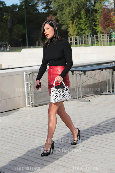 Adele Exarchopoulos attend Louis Vuitton Show Front Row - Paris Fashion Week  2016.<br /> October 7, 2015 Paris, France<br /> Picture: Kristina Afanasyeva / Featureflash
