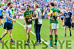Killian Young Kerry players after being defeated by Dublin in the All Ireland Senior Football Semi Final at Croke Park on Sunday.