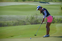 Minjee Lee (AUS) watches her putt on 17 during round 2 of  the Volunteers of America LPGA Texas Classic, at the Old American Golf Club in The Colony, Texas, USA. 5/6/2018.<br /> Picture: Golffile | Ken Murray<br /> <br /> <br /> All photo usage must carry mandatory copyright credit (&copy; Golffile | Ken Murray)