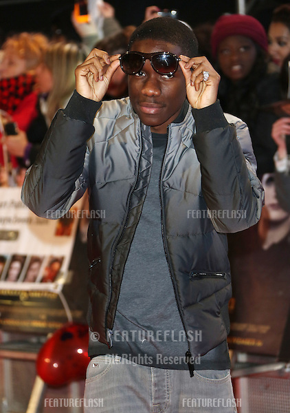 "Tinchy Stryder arriving for the ""The Twilight Saga: Breaking Dawn Part 2"" premiere at the Odeon Leicester Square, London. 14/11/2012 Picture by: Henry Harris / Featureflash"