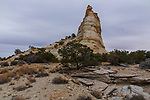 The Ghost Rock in the San Rafael Swell in south central Utah is a monolith composed of Navajo Sandstone.
