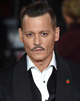 Johnny Depp<br /> at the &quot;Murder on the Orient Express&quot; premiere held at the Royal Albert Hall, London<br /> <br /> <br /> &copy;Ash Knotek  D3344  03/11/2017
