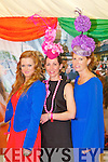Pictured at Listowel Races, Ladies Day on Friday from left: Louise O'Flaherty (Kilmoyley), Tara O'Connell (Tralee), Karen Griffin (Kilmoyley)..