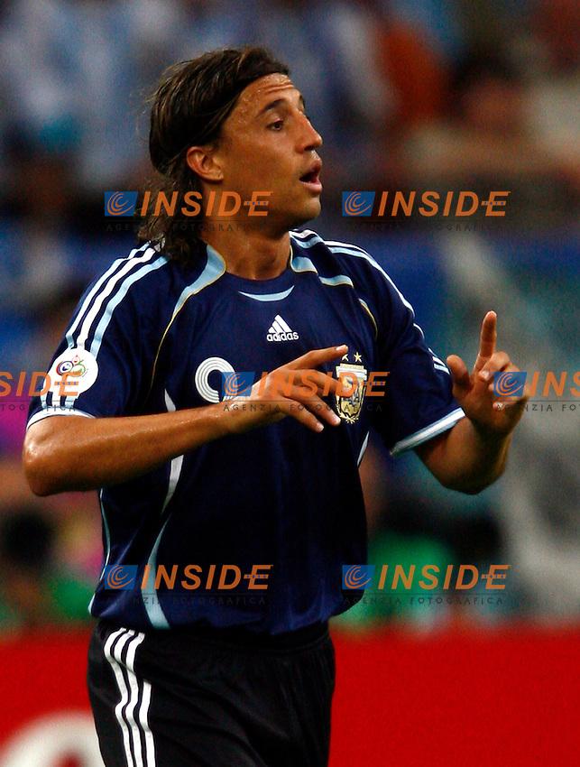 Gelsenkirchen 16/6/2006 World Cup 2006.Argentina Serbia & Montenegro 6-0.Photo Andrea Staccioli Insidefoto.Hernan Crespo Argentina