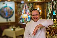 Europe/Allemagne/Bade-Würrtemberg/Forêt Noire/Ettlingen: Ralph Knebel chef étoilé du restaurant: Erbprinz à l''hôtel: Erbprinz [Non destiné à un usage publicitaire - Not intended for an advertising use]