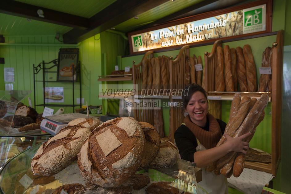 Europe/France/Bretagne/56/Morbihan/Vannes:   Boulangerie bio: Au Fournil Breton [Non destiné à un usage publicitaire - Not intended for an advertising use]