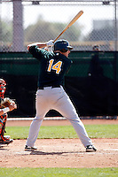 Greg Dowling - Oakland Athletics - 2009 spring training.Photo by:  Bill Mitchell/Four Seam Images