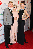 BEVERLY HILLS, CA, USA - APRIL 10: Derek Hough, Julianne Hough, Maria Menounos at the Kaleidoscope Ball - Designing The Sweet Side Of L.A. held at The Beverly Hills Hotel on April 10, 2014 in Beverly Hills, California, United States. (Photo by Celebrity Monitor)