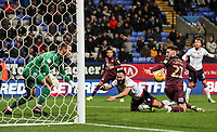 Bolton Wanderers' Erhun Oztumer appeals for s penalty as Swansea City's Matt Grimes and Erwin Mulder look on.<br /> <br /> Photographer Andrew Kearns/CameraSport<br /> <br /> The EFL Sky Bet Championship - Bolton Wanderers v Swansea City - Saturday 10th November 2018 - University of Bolton Stadium - Bolton<br /> <br /> World Copyright © 2018 CameraSport. All rights reserved. 43 Linden Ave. Countesthorpe. Leicester. England. LE8 5PG - Tel: +44 (0) 116 277 4147 - admin@camerasport.com - www.camerasport.com