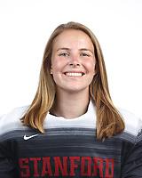STANFORD, CA - August 16, 2019: Kelsey Bing on Field Hockey Photo Day.