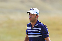 Pablo Larrazabal (ESP) on the 15th green during Friday's Round 2 of the 2018 Dubai Duty Free Irish Open, held at Ballyliffin Golf Club, Ireland. 6th July 2018.<br /> Picture: Eoin Clarke | Golffile<br /> <br /> <br /> All photos usage must carry mandatory copyright credit (&copy; Golffile | Eoin Clarke)