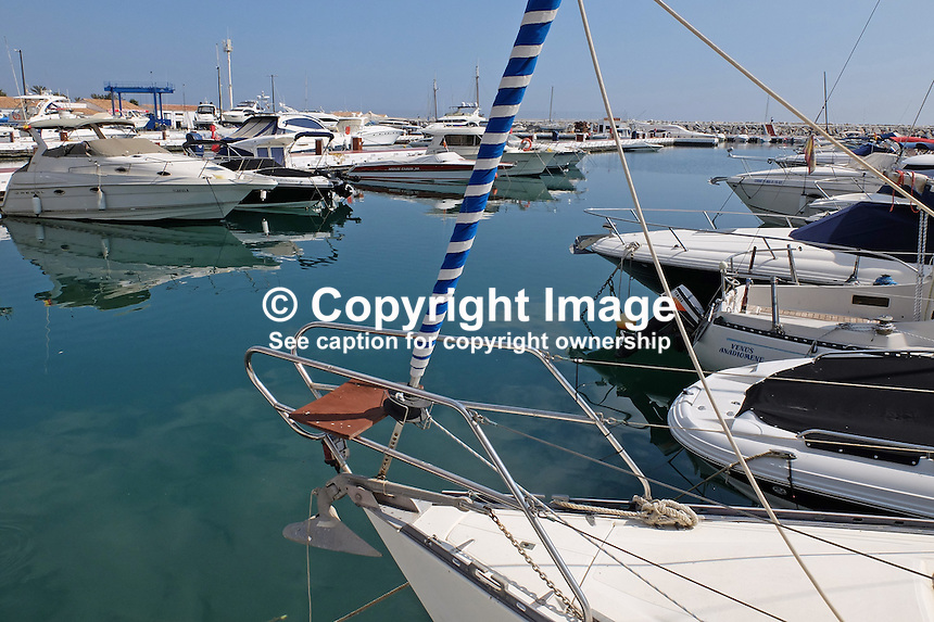 Marina, Puerto Banus, Marbella, Malaga Province, Spain, March 2015, 201503160607<br />