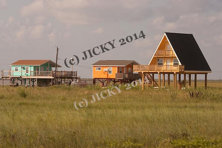 Surf Beach - Stilt homes.