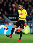 Watford's Roberto Pereyra in action during the premier league match at Selhurst Park Stadium, London. Picture date 12th December 2017. Picture credit should read: David Klein/Sportimage