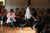 Catwalk<br /> at the PPQ AW17 show as part of London Fashion Week AW17 at 180 Strand, London.<br /> <br /> <br /> ©Ash Knotek  D3230  17/02/2017