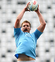 All Black Kieran Read at training session prior to the Rugby Championship, Bledisloe Cup test match between New Zealand and Australia, Forsyth Barr Stadium, Dunedin, New Zealand, Thursday, October 17, 2013. Photo: Dianne Manson / photosport.co.nz