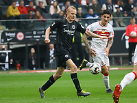 Sebastian Rode (Eintracht Frankfurt) - 31.03.2019: Eintracht Frankfurt vs. VfB Stuttgart, Commerzbank Arena, DISCLAIMER: DFL regulations prohibit any use of photographs as image sequences and/or quasi-video.