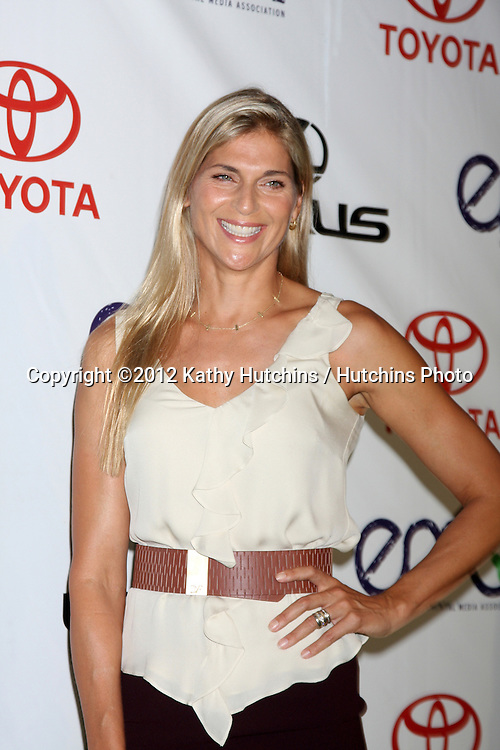LOS ANGELES - SEP 29:  Gabrielle Reece arrives at the 2012 Environmental Media Awards at Warner Brothers Studio on September 29, 2012 in Burbank, CA