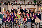 RETIRMENT: celebration were held in The Oyster Tavern, Tralee on Friday by workl mates of Adrianne Young Causeway as she retired from the ESB in the basin, Tralee after 40 years service..