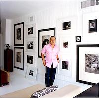 Decorator Juan Carlos Arcila-Duque in his art-filled loft in New York City