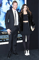 "NEW YORK, NY - FEBRUARY 11: Jim Parrack and guest at the World Premiere Of Warner Bros. Pictures' ""Winter's Tale"" held at Ziegfeld Theatre on February 11, 2014 in New York City. (Photo by Jeffery Duran/Celebrity Monitor)"