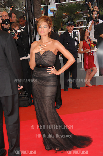 "Eva Mendes at screening for ""We Own the Night"" at the 60th Annual International Film Festival de Cannes..May 25, 2007  Cannes, France..© 2007 Paul Smith / Featureflash"