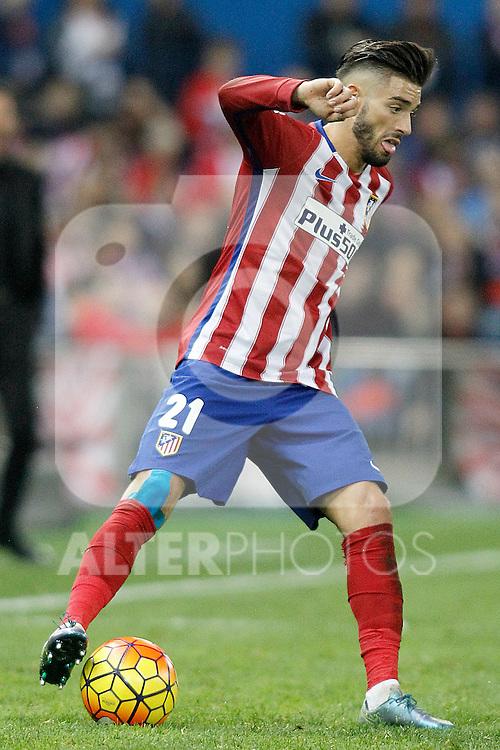 Atletico de Madrid's Yannick Ferreira Carrasco during La Liga match. November 8,2015. (ALTERPHOTOS/Acero)
