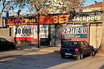 WinBet roulette slots gambling shop, Plovdiv, Bulgaria, eastern Europe