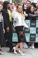 NEW YORK, NY - JUNE 5: Hilary Duff visits 'Build Series' to promote the upcoming season of TV Land's  'Younger'   in New York, New York on June 5 2018.  <br /> CAP/MPI/RMP<br /> &copy;RMP/MPI/Capital Pictures