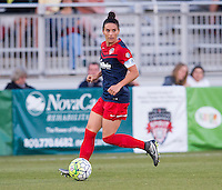 Boyds, MD - April 16, 2016: Washington Spirit defender Ali Krieger (11). The Washington Spirit defeated the Boston Breakers 1-0 during their National Women's Soccer League (NWSL) match at the Maryland SoccerPlex.