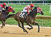 Pulling Away winning at Delaware Park on 9/3/16