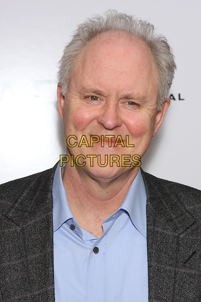 "JOHN LITHGOW .attend the World Premiere of ""Leap Year"" at the Directors Guild Theater, New York, NY, USA, 6th January 2010..arrivals portrait headshot grey gray plaid jacket blue shirt checked .CAP/LNC/TOM.©LNC/Capital Pictures"