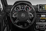 Car pictures of steering wheel view of a 2018 Mercedes Benz G-Class G550 5 Door SUV Steering Wheel