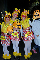 www.acepixs.com<br /> <br /> October 31 2017, New York City<br /> <br /> Particpants in costume during the annual Halloween Parade on October 31 2017 in New York City<br /> <br /> By Line: Curtis Means/ACE Pictures<br /> <br /> <br /> ACE Pictures Inc<br /> Tel: 6467670430<br /> Email: info@acepixs.com<br /> www.acepixs.com