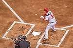 1 April 2013: Washington Nationals outfielder Bryce Harper lays off an outside pitch during the Opening Day Game against the Miami Marlins at Nationals Park in Washington, DC. The Nationals shut out the Marlins 2-0 to launch the 2013 season. Mandatory Credit: Ed Wolfstein Photo *** RAW (NEF) Image File Available ***